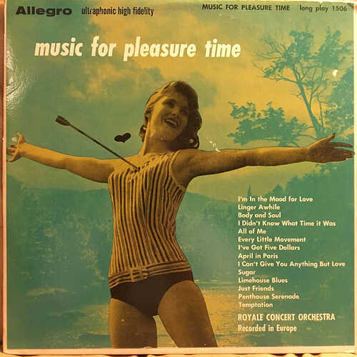 music for pleasure time